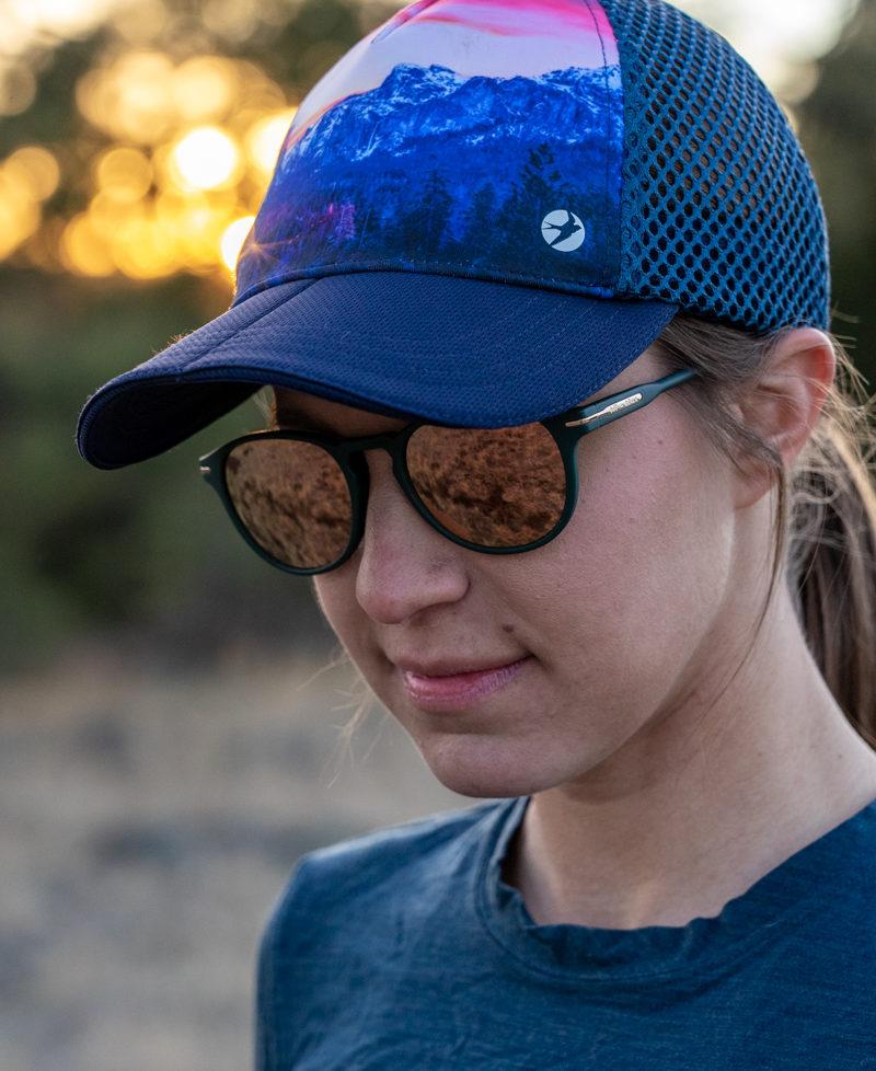 The best hat for hiking: Oiselle runner trucker review
