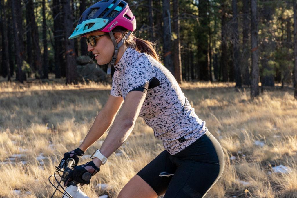 Mountain biking outfit for women