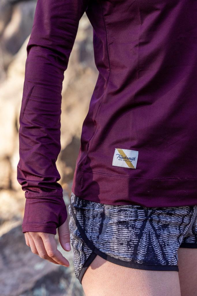 Fall running gear: Tracksmith twilight long sleeve